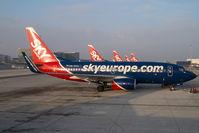OM-NGG @ VIE - Sky Europe Boeing 737-700