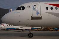 OE-LVN @ VIE - Austrian Arrows Fokker 100