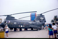 153325 @ KNKX - Taken at NAS Miramar Airshow in 1988 (scan of a slide) - by Steve Staunton