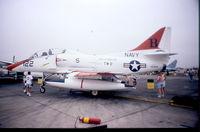 156928 @ KNKX - Taken at NAS Miramar Airshow in 1988 (scan of a slide) - by Steve Staunton