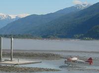 N106FS - Landing in Hyder Alaska - by Kris Palazzolo