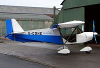 G-CDHE @ EGCB - Skyranger parked after its first flight of 2008