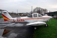 G-RVRG @ EGCB - Ravenair's Tomahawk parked at Barton on New Years Day 2008