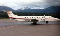 N1568W @ TVL - Alpha Airlines B1900 at Lake Tahoe - aircraft became registered HK-4266X