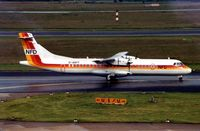 D-ANFF @ EDDL - NFD's ATR72 c/n 292 was subsequently converted to a Freighter and operates under registration Ei-FXJ