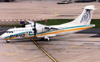 F-GREG @ LFPO - Seen operating at Paris Orly in 1997 - the aircraft still wears the colourful livery of previous operater Mahalo Air