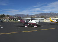 N112DS @ SZP - 1977 Cessna 182Q SKYLANE, Continental O-470-U 230 Hp - by Doug Robertson