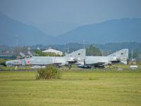 37-8316 @ RJFN - McDonnell-Douglas F-4EJ/Nyutabaru AB (with 57-8360) - by Ian Woodcock