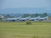 47-8348 @ RJFN - McDonnell-Douglas F-4EJ/Nyutabaru ( heads a line up) - by Ian Woodcock