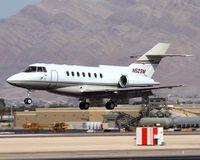N52SM @ LAS - Sierra Pacific Industries BAE125 Series 1000A N52SM landing on RWY 25L. - by Dean Heald