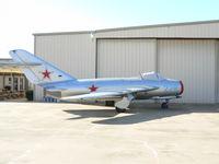 N1817M @ ADS - Polish Mig 17 - At Cavanaugh Flight Museum