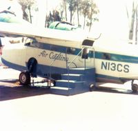 N13CS - Ready for boarding - by Roger L. Meadows