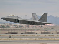 99-4010 @ KLSV - USA - Air Force / 1999 Lockheed Martin F/A-22A Raptor / 442 Test and Evaluation Squadron / 53rd Fighter Wing