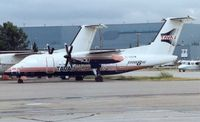 C-GDIW @ CYYC - This photo was taken at Calgary in 1998 prior to the aircraft being delivered to TAVAJ as PT-TVD - by Terry Fletcher