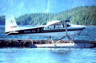 C-GHBX @ YTP - Tofino Air's C180 at its homebase harbour - by Terry Fletcher