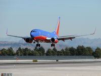 N435WN @ KLAS - Southwest Airlines / 2003 Boeing 737-7H4 / My 4600th upload. - by Brad Campbell