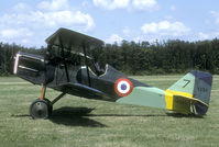 F-AZCN @ LFFQ - This SE-5a is a very well built replica of the WW1 fighter.