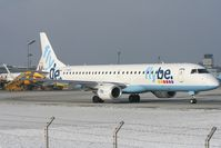 G-FBEG @ SZG - Fly Be Embraer 195 - by Luigi
