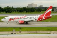 9M-AAO @ VTBD - Air Asia 737-300 - by Andy Graf-VAP