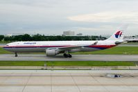9M-MKF @ VTBD - Malaysia Airlines A330-300 - by Andy Graf-VAP