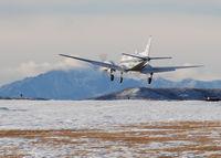 N100JD @ KAPA - Landing on 17L - by Bluedharma