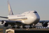 9V-SPB @ YSSY - Singapore Airlines 747-400 - by Andy Graf-VAP