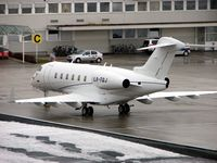 LX-TQJ @ LOWS - Global Jet Luxembourg's new Challenger 300 made an overnight stay at Salzburg 6/7 January 2008 - by Terry Fletcher