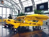 OE-CDM @ LOWS - One of the very last Piper Cubs ever built and now displayed at the Hangar 7 Museum , Salzburg Airport