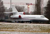OH-FFC @ LOWS - Finniish Falcon 900EX at Salzburg - maybe in connection with the Ski-jumping further down the valley