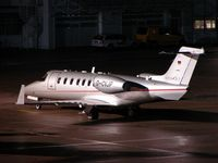 D-CVJP @ LOWS - Vistajet's Lear 40 was a nightstopper at Salzburg Airport - by Terry Fletcher