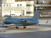 OE-INY @ LOWS - Vistajet's Challenger 604 after nightstop at Salzburg