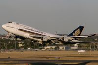 9V-SPC @ YSSY - Singapore Airlines 747-400 - by Andy Graf-VAP