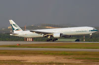 B-HNP @ WMKK - Cathay Pacific 777-300 - by Andy Graf-VAP