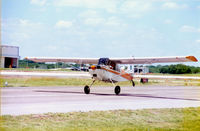N50287 @ GKY - Registered as a Bellanca 8GCBC Scout - working for Tarrant County TX Water Department