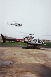N126TV @ DWH - On the Ramp at Hooks Airport - by Tom Norvelle