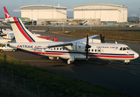 9G-AAB @ LFBO - Second ATR42-300 for Antrak Air... Awaiting his delivery - by Shunn311
