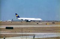 UNKNOWN @ DFW - Lufthansa Airbus 340 at DFW