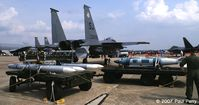 89-0478 @ GSB - And here's the bang.  AIM-7s, AIM-120s, an AIM-9 and a JDAM - by Paul Perry