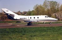 N444WJ @ TEB - Falcon 10 waiting to depart TEB in 1999 - aircraft now WFU