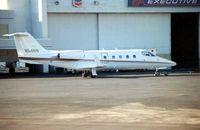 N54NW @ KHOU - Learjet 55 at Houston Hobby in 1992