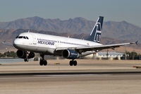 N280RX @ KLAS - Mexicana / 1991 Airbus Industrie A320-231