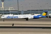N869GA @ KLAS - Allegiant Air / 1991 McDonnell Douglas DC-9-83(MD-83)