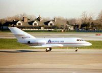 N204TW @ CLE - Falcon 20 at Cleveland in 1997