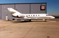 N190BD @ TTF - Falcon Jet 20 at Monroe Custer in 1999 - When Grand Aire Hansas used to be based there