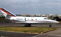 F-BJLH @ LFPB - This Aircraft has cn 1 in the Falcon 10 production - it now carries N333FJ