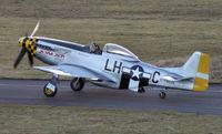 D-FBUN @ QFB - North American P-51D Mustang - by J. Thoma