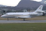 OE-HVA @ SZG - Comtel Air Dassault Falcon 2000