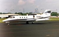 N241RT @ ORL - THese marks were previously worn by a Learjet35 cn 024   - currently registered N411BA