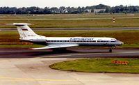RA-65771 @ EDDL - Aeroflot Tu 134 at Dusseldorf in 1994
