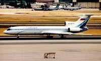 RA-85705 @ EDDF - Sibir Tu-154 at Frankfurt in 1999